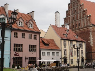 Typical Old Town architecture