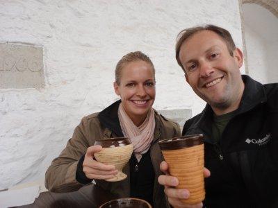 Elk soup and medieval ale
