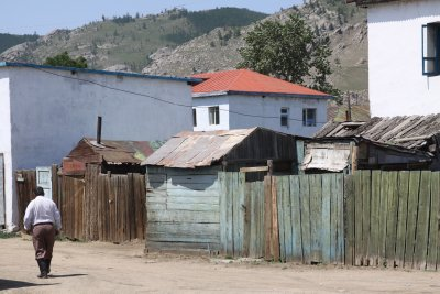 The side streets of Tsetserleg