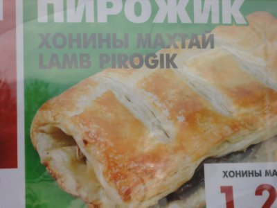 Cornish pasties Mongolian style