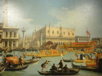 The Pushkin Museum's Canaletto