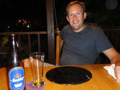 Our favorite beer - Mandalay Blue