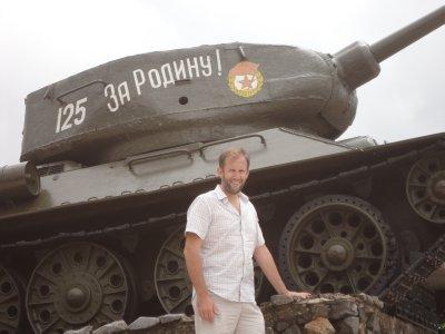 Soviet Tank at the War Memorial