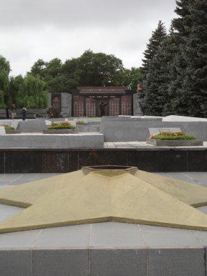Eternal Flame at the War Memorial