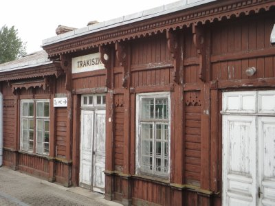Lithuanian train station