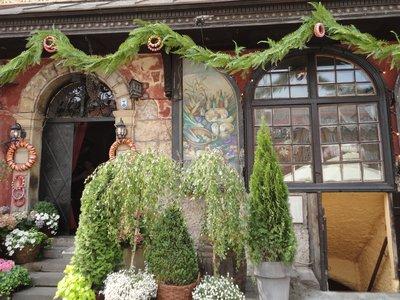 Typical Warsaw restaurant