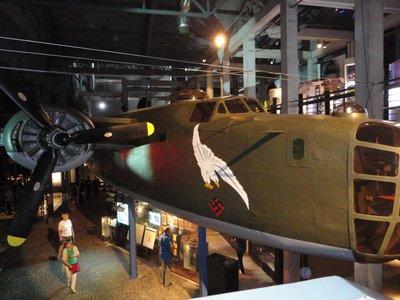 B-24 Liberator at the Warsaw Rising Museum