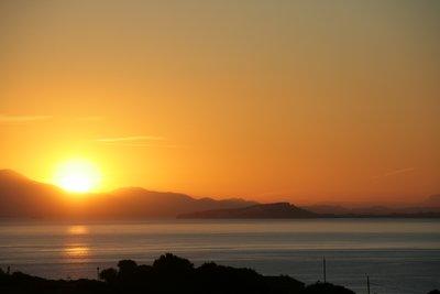Torre delle Stelle Sunset over Cagliari Gulf