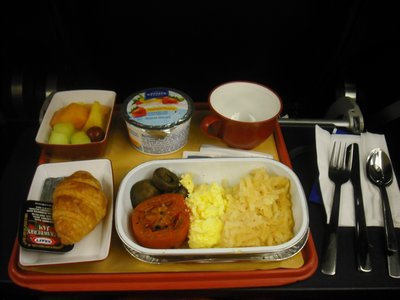 Surprisingly great airplane food!