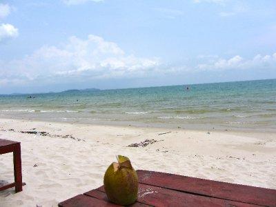 Coconut Sihanouvkille Beach