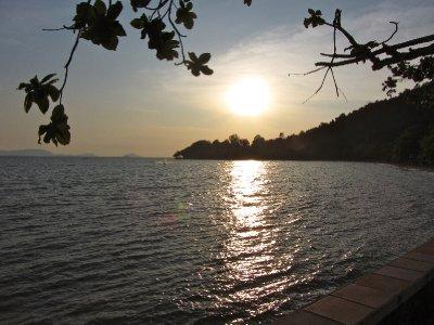 Sunset Over Kep Beach