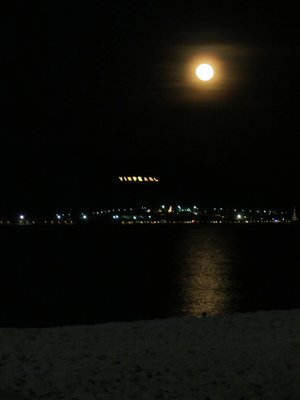 Moonlight over Nha Trang Beach