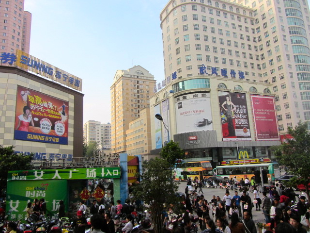 downtown kunming