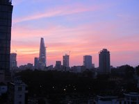 Sunrise Over Ho Chi Minh