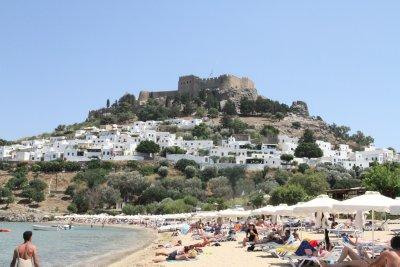 Acropolis above Lindos