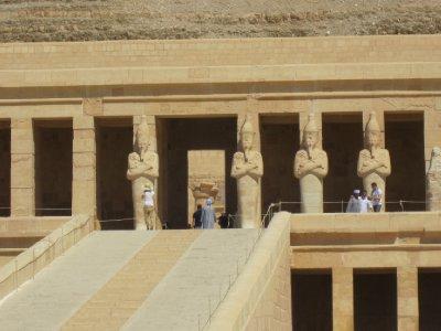 Facade of Temple of Hatcheptsut