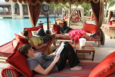 Dubai - by the pool