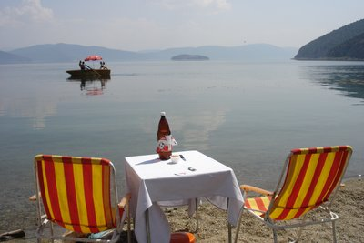 Relax by Prespa lake