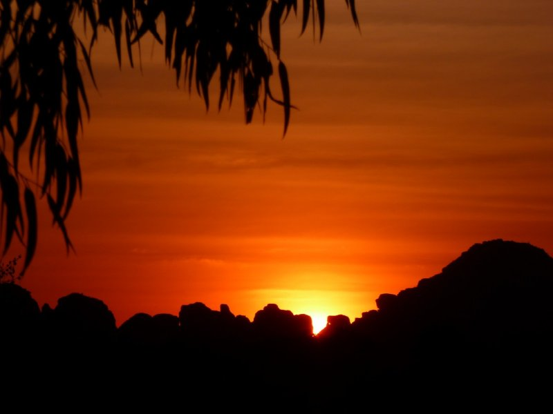 Sunset at Bungles