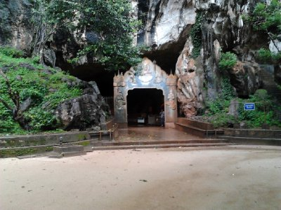 Entrance to the Monkey Cave