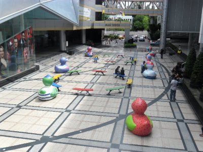 Modern Art in Siam Square
