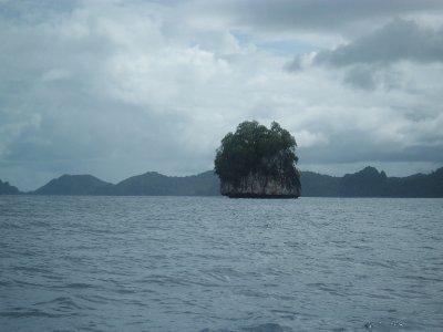 Lone Island in El Nido