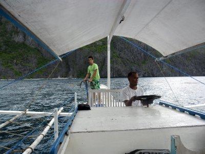 Boat Crew in El Nido