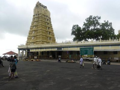 Chamundi Temple in Mysore