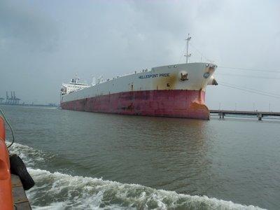 Ship in Kochi