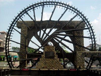 Waterwheel in Melaka
