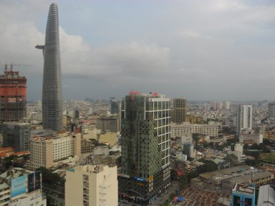 Ho Chi Minh City from the Sheraton Hotel