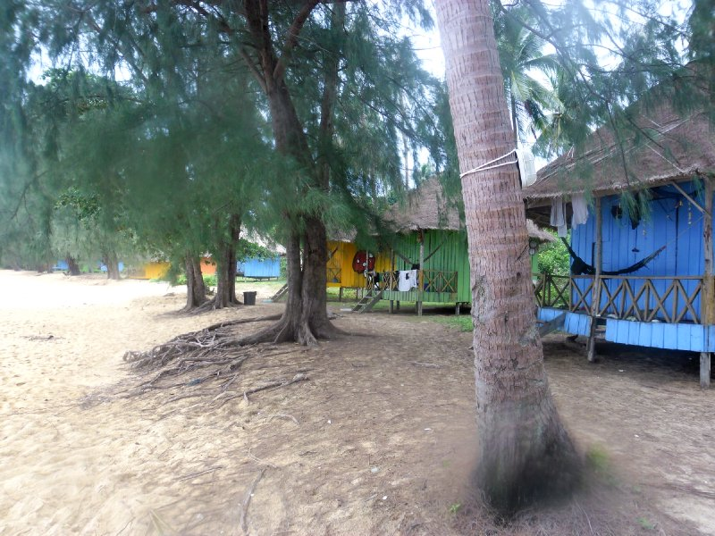 Beach Bungalows on Koh Russei