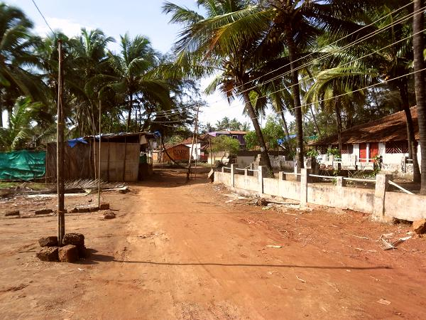 Anjuna Beach Road