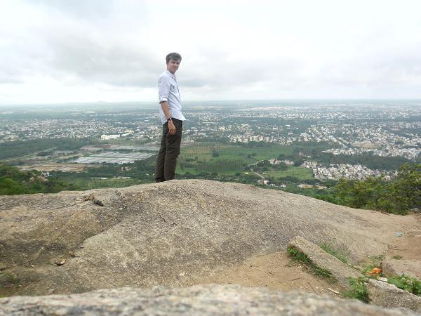 Me on Chamundi Hill