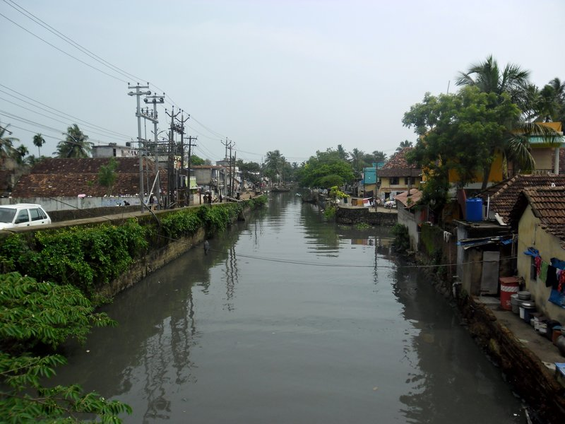 River in Fort Kochi