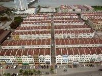 Houses and Shops in Melaka