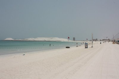 White sands in the UAE