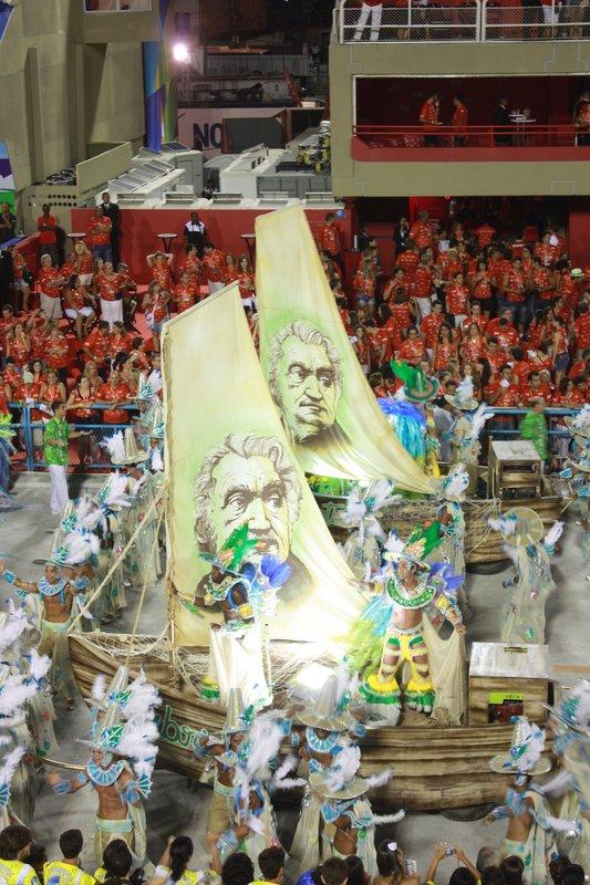 Inspiration, Sambadrome, Rio de Janeiro