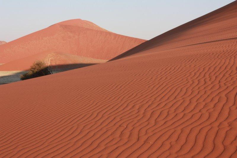 Moving sands, Namib Desert, Namibia