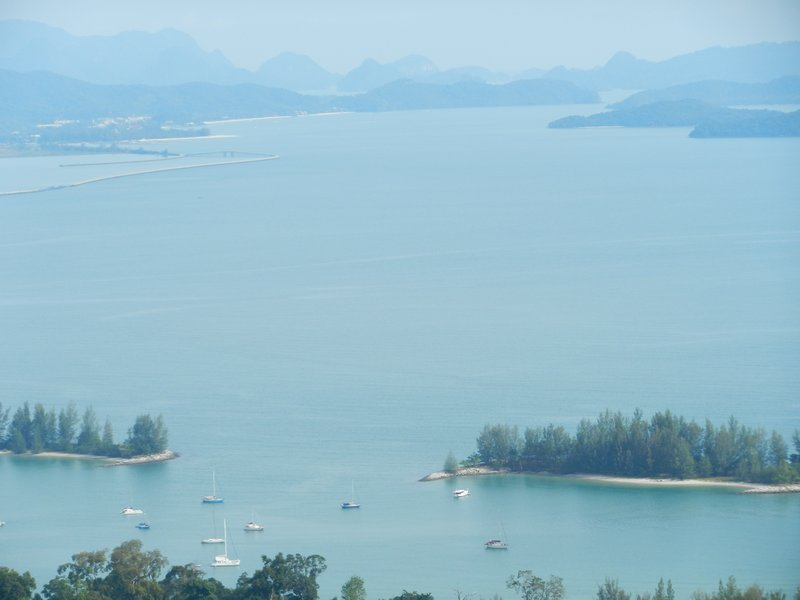 View from Cable Car - Langkawi