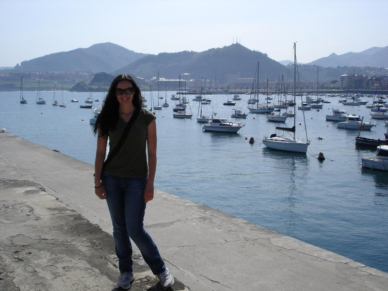 Going for a walk in Castro Urdiales