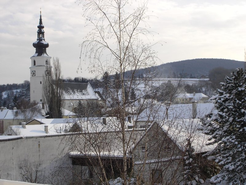 Konigstetten - the view from the balcony
