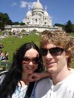 Enjoying Paris!