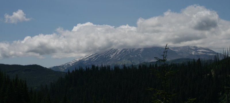 Mount Saint Helens from afar