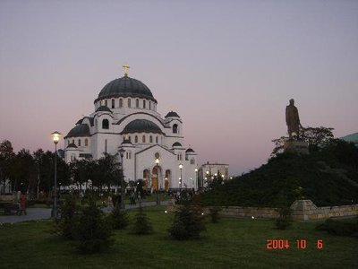 St Sava's and Black George's Statue
