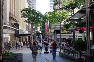 Queen Street Mall in Brisbane