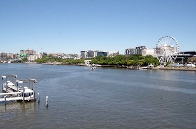 Southbank from the Victoria Bridge