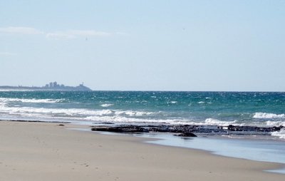 Maroochydore in the distance