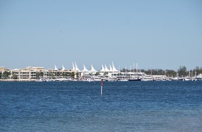 Todays weather photo looking down the Broadwater