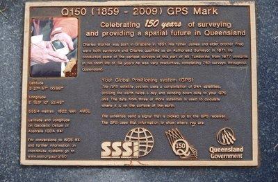 North Tamborine GPS marker